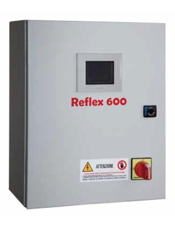 Sidatex, Reflex600 quadri distribuzione