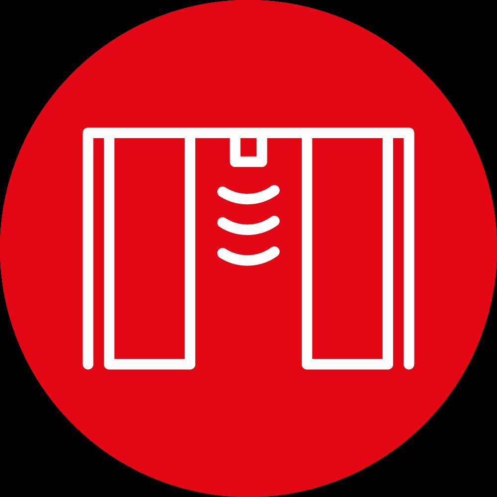 icona porte scorrevole automatica