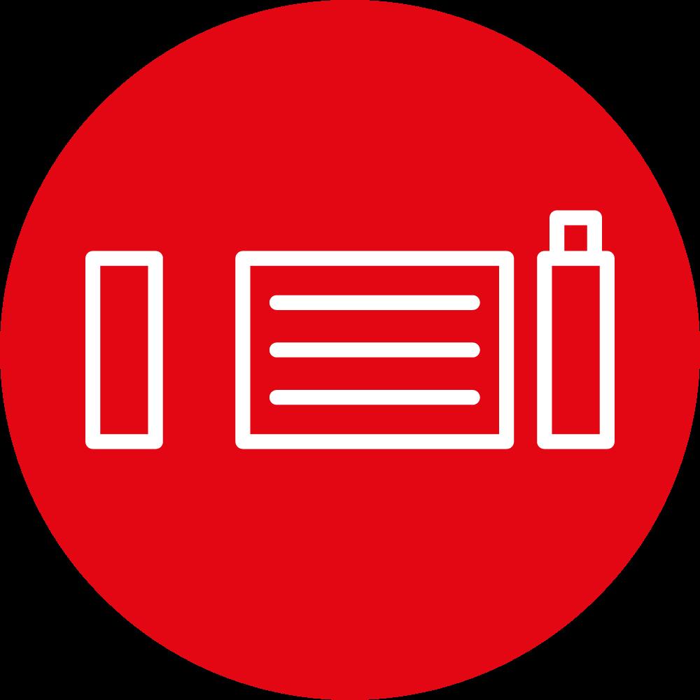 icona cancello automatico, porta scorrevole