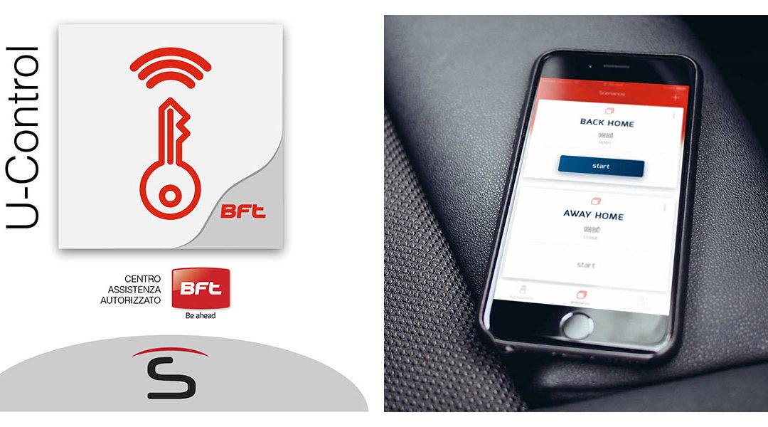 Sidatex presenta U-Control, la nuova app di Bft che consente di gestire in maniera semplice e intuitiva le automazioni di casa.