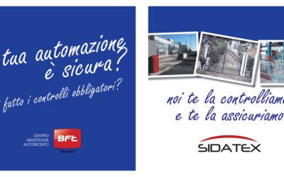 Automazione sicura e assicurata con Sidatex.