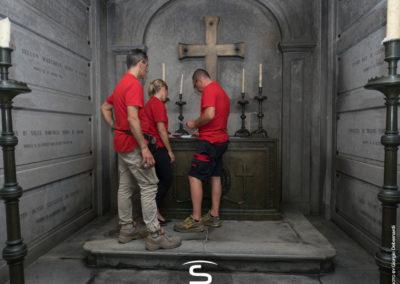 Staff Sidatex, Progetto di riqualificazione illuminotecnica Sidatex, Tomba Cavour Santena