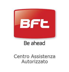 Logo BFT rosso - automazione cancelli - Sidatex - Santena