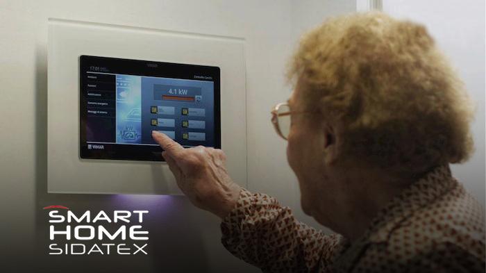 smart home sidatex domotica asssistenziale anziani e disabili