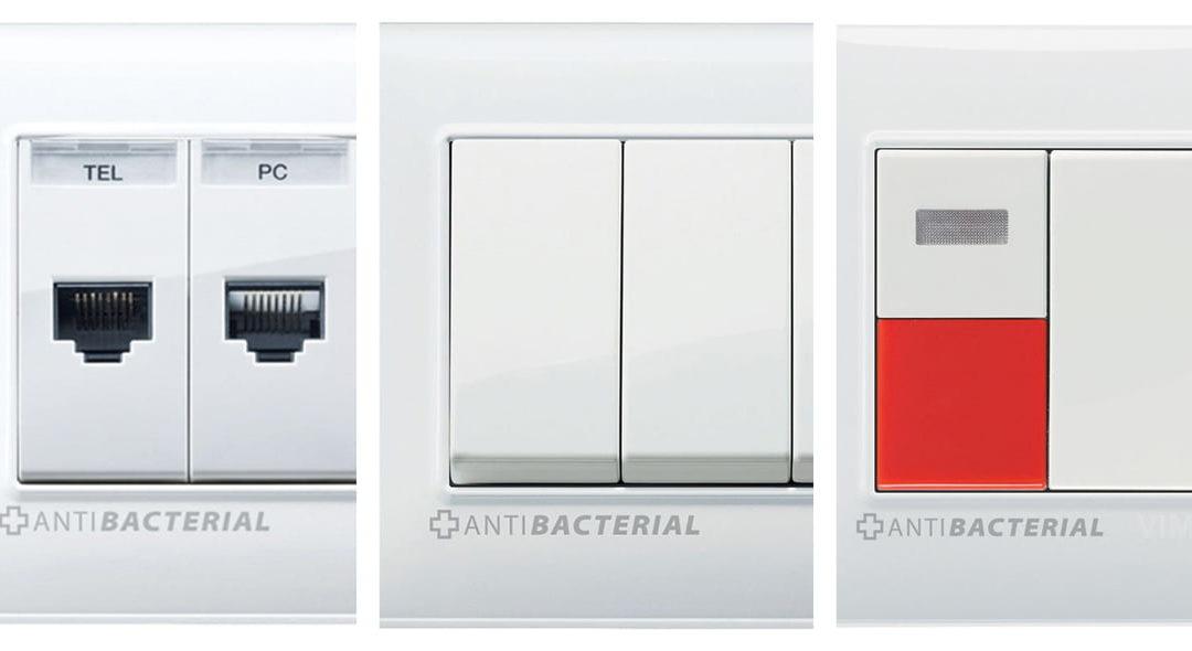 Igiene in casa come in ospedale: placche antibatteriche, prese e interruttori sicuri